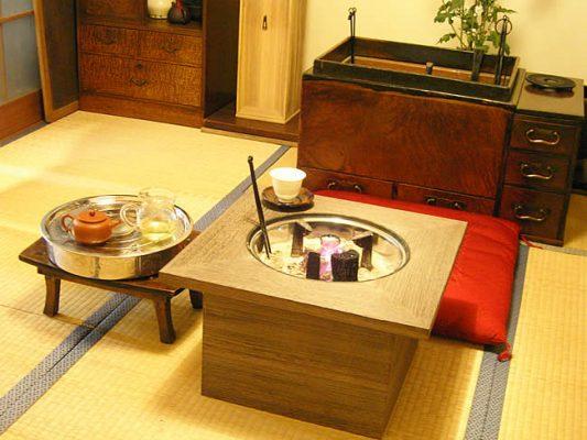 新品桐の火鉢