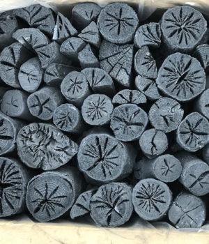 利休の二度焼きナラ炭