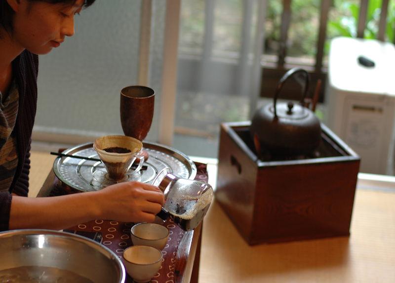 火鉢屋でやったコーヒー教室