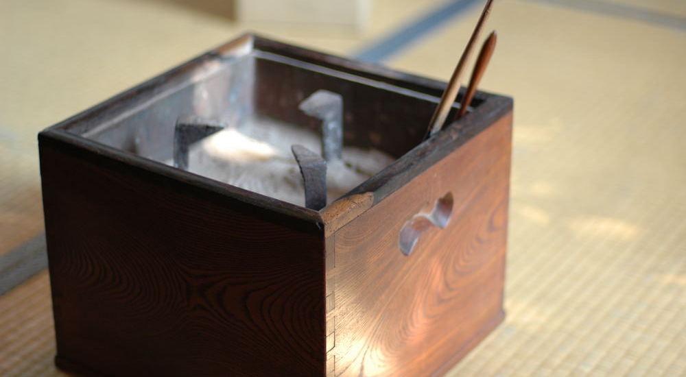 明治時代の手あぶり火鉢