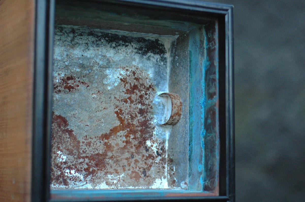 煎茶道 霧と紫檀の火鉢の炉