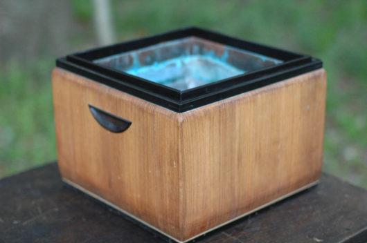 煎茶道 霧と紫檀の火鉢