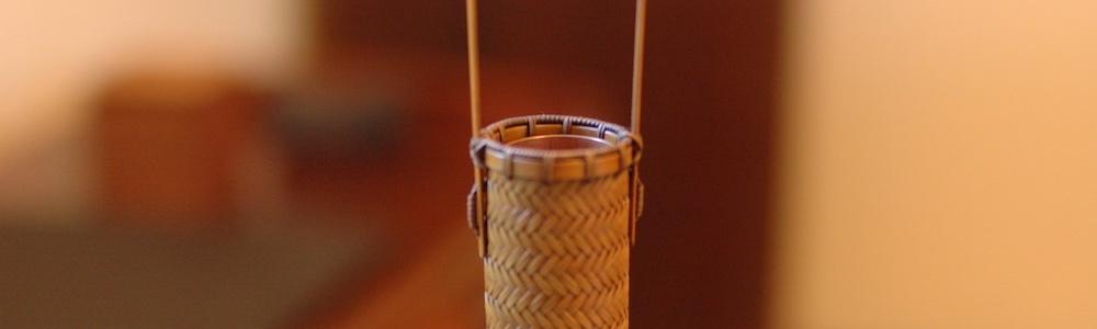 竹の工芸よしだ 一輪挿し