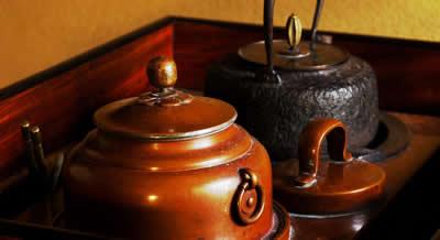 お客様の銅壺(どうこ)