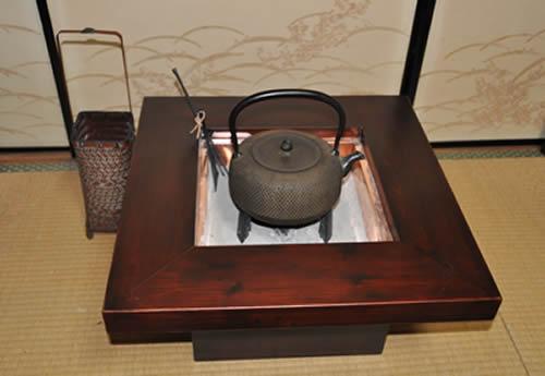 お客様の杉の火鉢