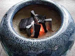 お客様の火鉢になら灰