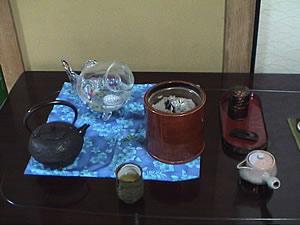 お客様の春慶塗の火鉢