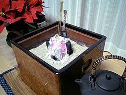 桑の手あぶり火鉢