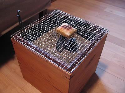お客様の火鉢