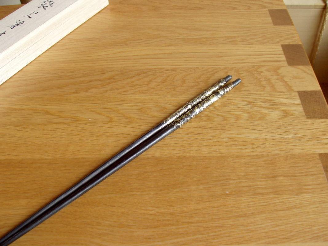 真鍮流し火箸