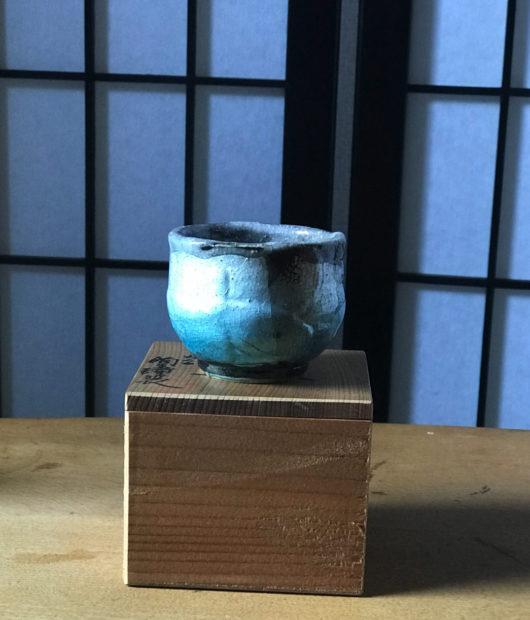 九谷焼のぐい呑