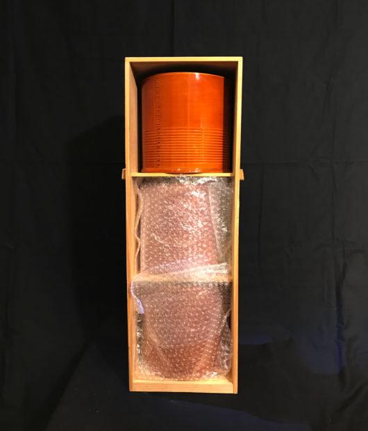 春慶塗の火鉢、ミニミニ