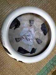 陶器の火鉢 お客様のお道具