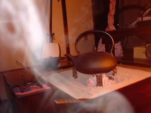 お客様の火鉢と三味線