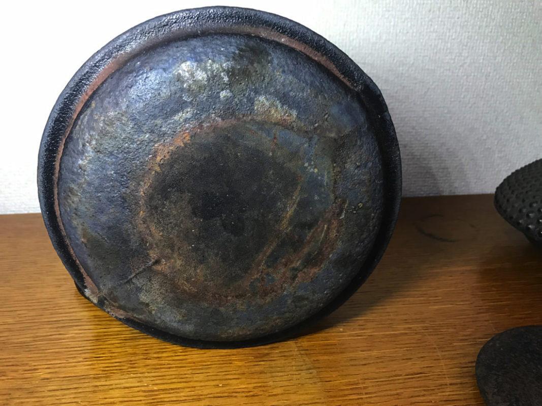 鉄瓶修理 ビフォー