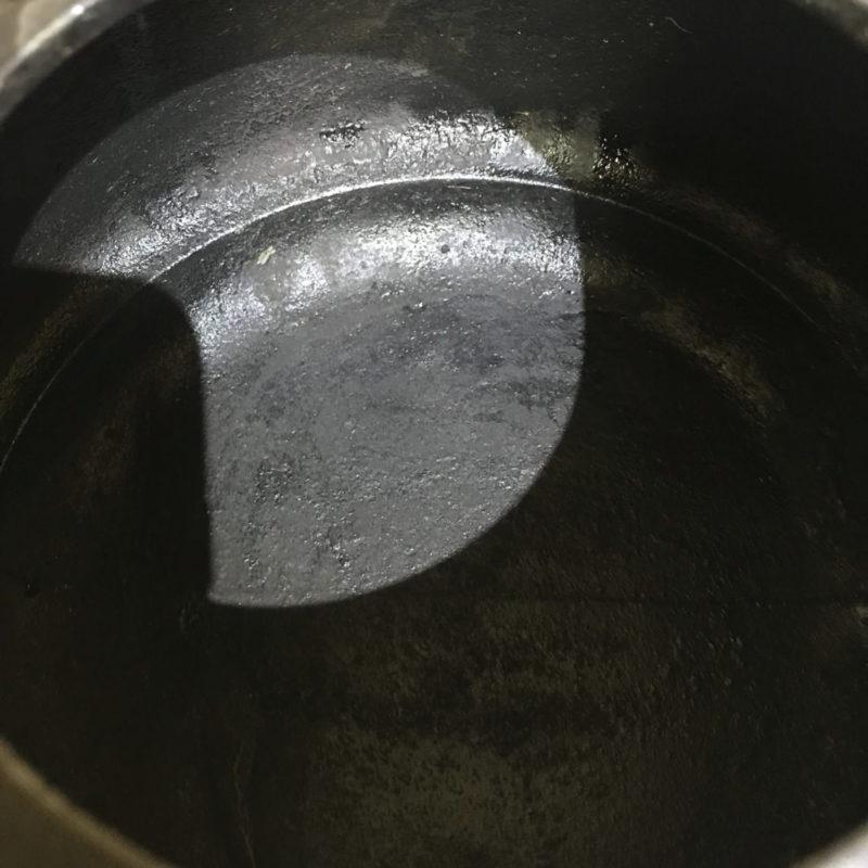 鉄瓶修理 アフター