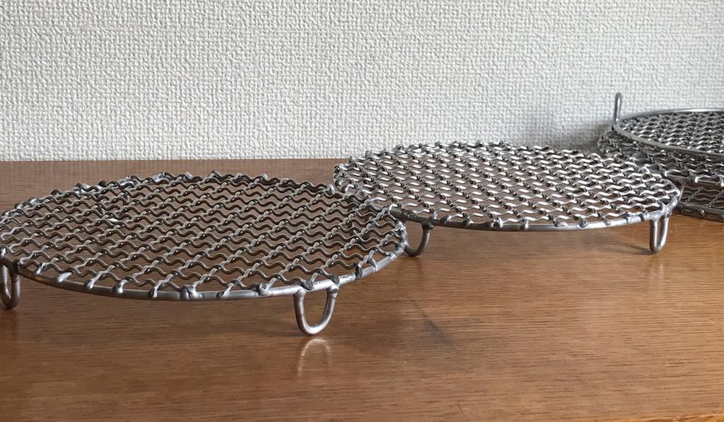中村さんのステンレス焼き網