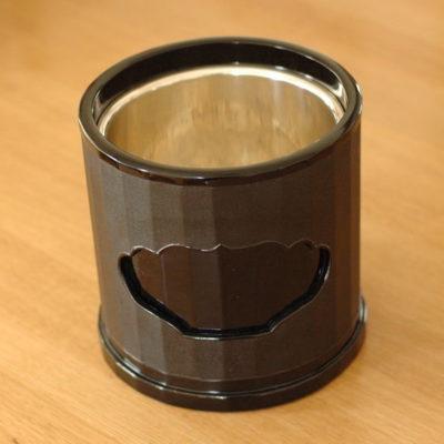 銀の炉の麻塗り火鉢