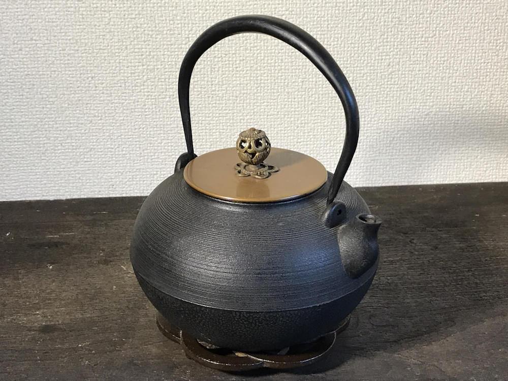 上林春松本店さんの鉄瓶