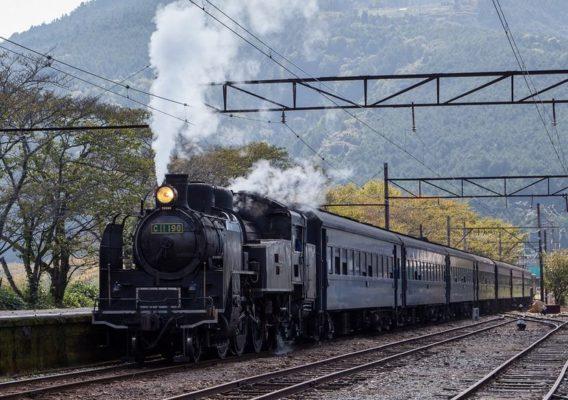 恵比寿と炭屋と火鉢と蒸気機関車