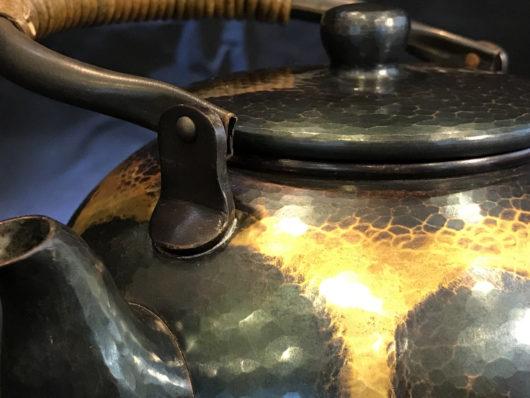 清穂堂 藍染銅瓶の画像