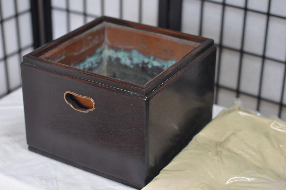 手あぶり火鉢第三百一弾 紫檀の火鉢