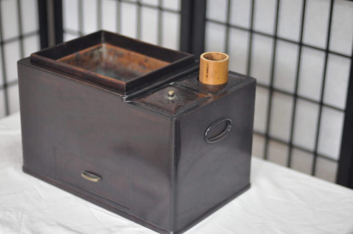 紫檀の煙草盆