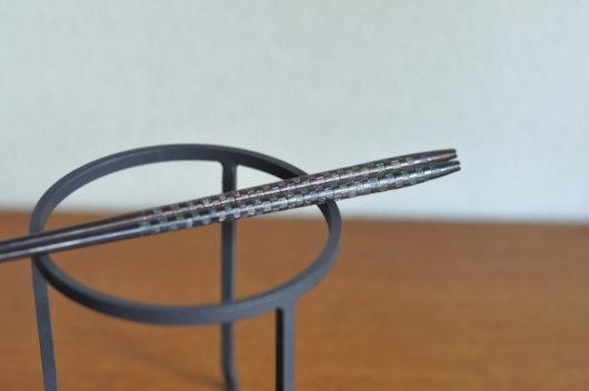 市松模様の火箸