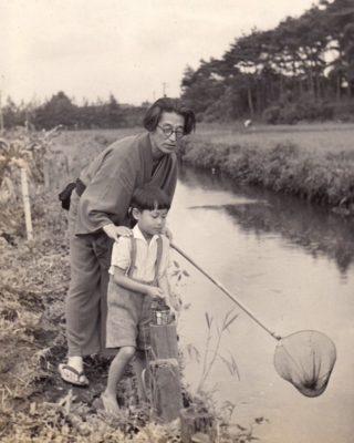 荻窪時代の田河水泡さんの写真
