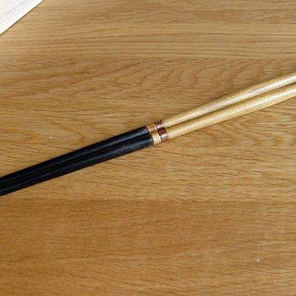 桑柄の火箸 鍛冶屋の田中さん作