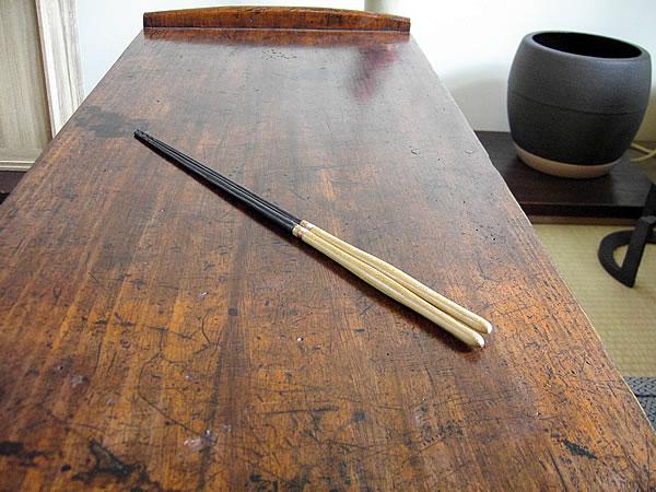 桑柄の火箸 炉用