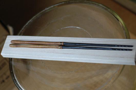 桑柄の火箸